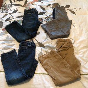 Boys Size 7/8 Pants Lot